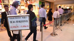 北角柏蔚山累售372伙,新世界發展營業及市務部總經理黃浩賢表示,集團今年已套現150億元,屬超額完成。