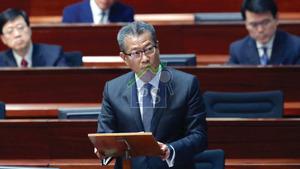財政司司長陳茂波強調,無意就二手市場的空置單位徵收空置稅,亦無意推資產增值稅。
