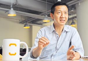 魏華星認為,社企成功關鍵並非龐大的起動資金,而是創辦人看準基層市場的需要,開拓創新業務。(程志遠攝)