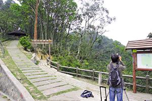 香港郊野公園的面積佔香港總面積的40%,結構奇特。(資料圖片)
