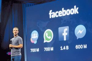 Mark Zuckerberg談企業商業發展時,會以企業使命為主,是典型的Y世代管理例子。(路透社圖片)