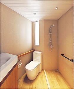 翻新後的廁所設計圖。(受訪者提供相片)