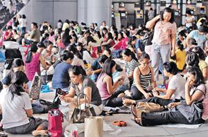 外傭居權案廣受社會關注,事實上,本港每年均有在港土生土長的外國或南亞裔人士,申請親人來港。(資料圖片)