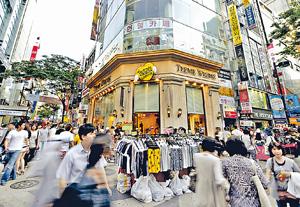筆者認為,中韓積極推動互利共贏的經濟圈建設,是提升兩國經濟的強勁力量。(資料圖片)