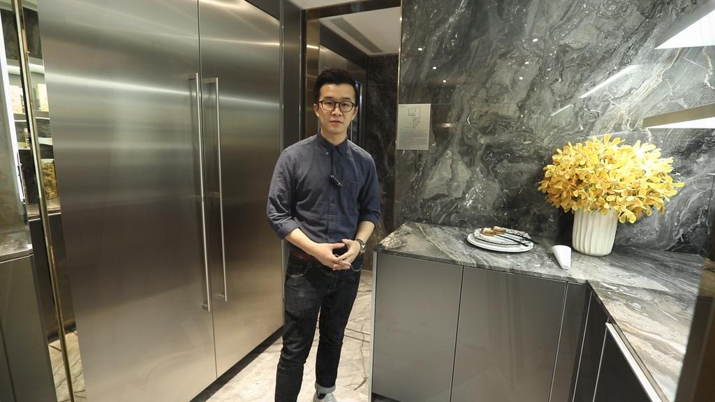 維港頌經改動4房示位 打造華麗風格大宅