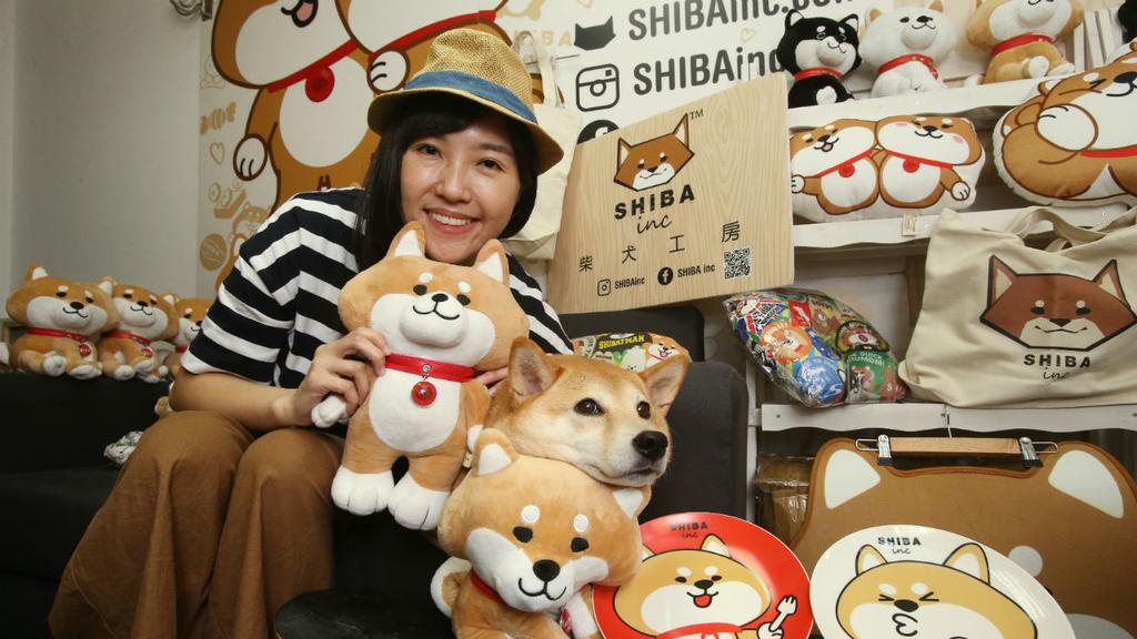 《柴犬工房》愛犬卡通化 三年紅至歐美日韓 為本土卡通品牌爭光