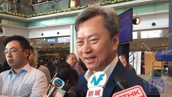 長實趙國雄:海之戀6成為年輕買家 滿意今日銷售反應