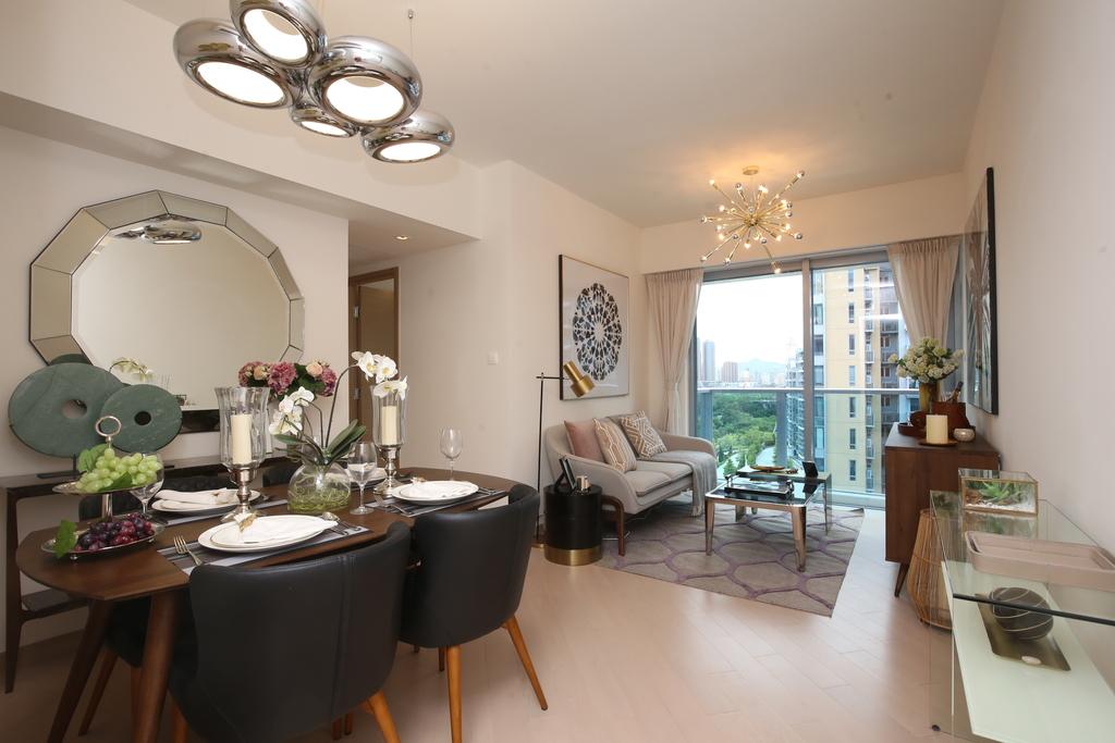 PARK YOHO Genova2房半單位 簡潔家具享元朗市景