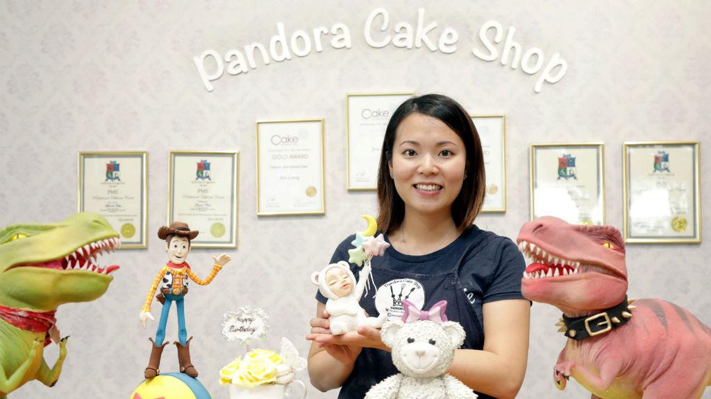 倔強少女打造3D藝術蛋糕 食玩兼備齊吸客