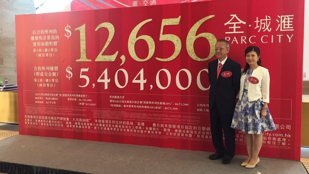 全‧城滙2房540.5萬 呎價12656元