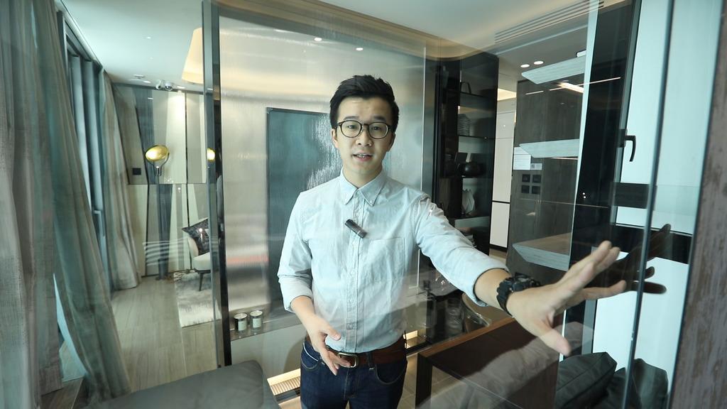 OASIS KAI TAK3房具現代感設計 書房展現透視感