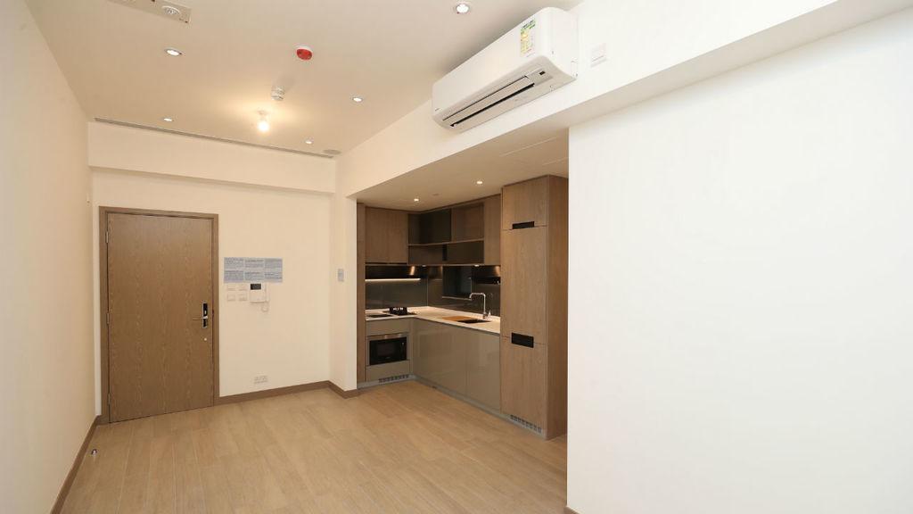 晉海細3房 浴室雙門設計盡顯靈活性