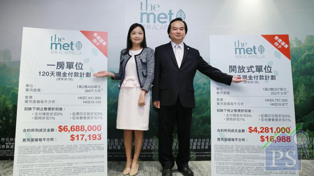 「迷你豪宅」開價 沙田薈蕎428.1萬入場