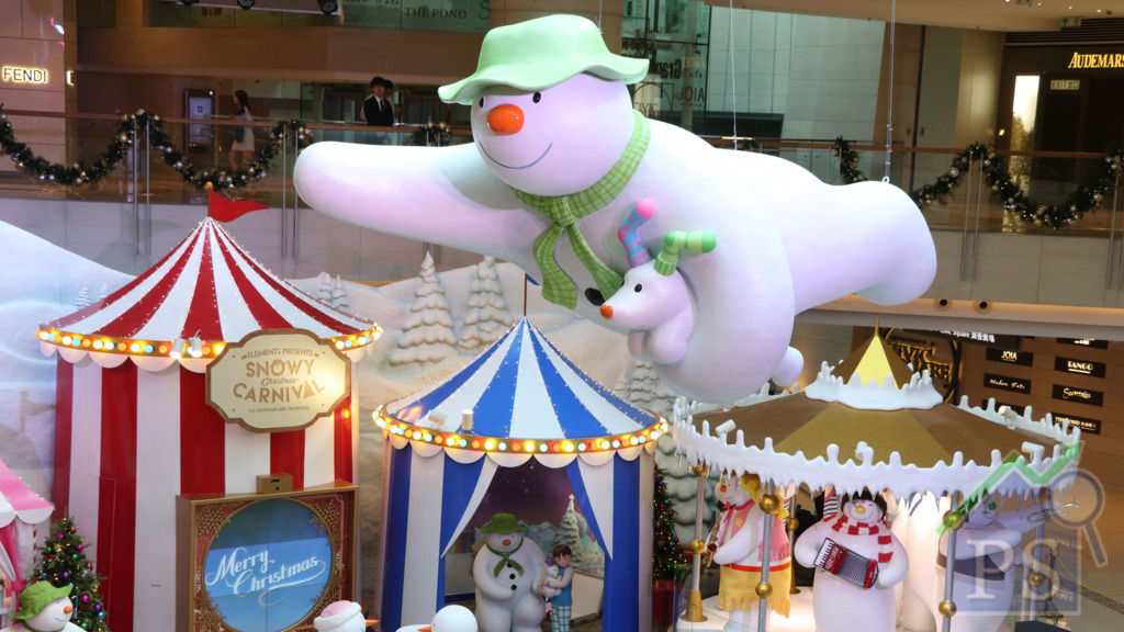 圓方重現英國經典童話《雪人與雪狗》
