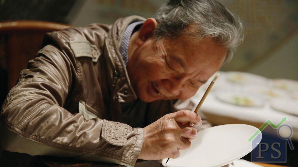 時代廣場 展現繪瓷文化手藝