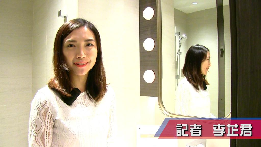 君譽峰浴室仿如劇場化妝室 鏡櫃設臉部照明