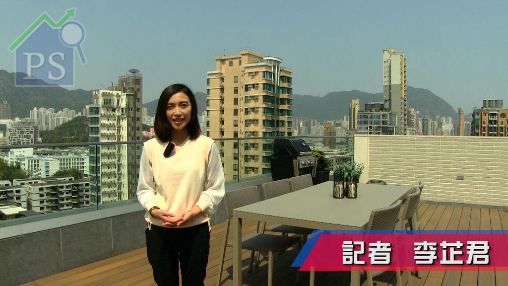 何文田明寓連天台複式戶 眺望九龍市景