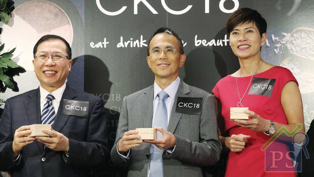 屈臣氏概念店CKC18 李澤鉅親臨開幕