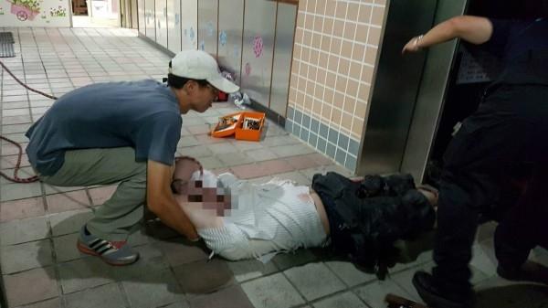 受困男子是校醫,被救出時已不幸身亡