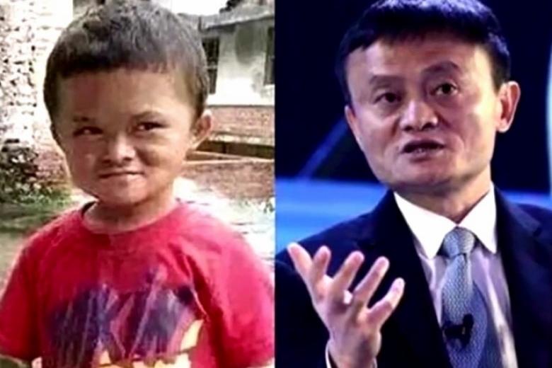 注。由於「小馬雲」家境清貧,馬雲已表明必須施以援手,承諾資助男童升學,甚至博士課