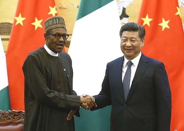 習近平曾與尼國總統布哈里見面,雙方就堅持「一中」原則達成共識。