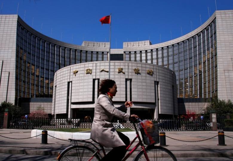 1月中國外匯佔款按月降近2088億元人民幣,顯示中國資本持續外流。