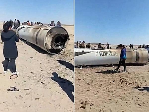 一段疑似解放軍全新型導彈(E/ADF-26B)的影片昨天曝光。