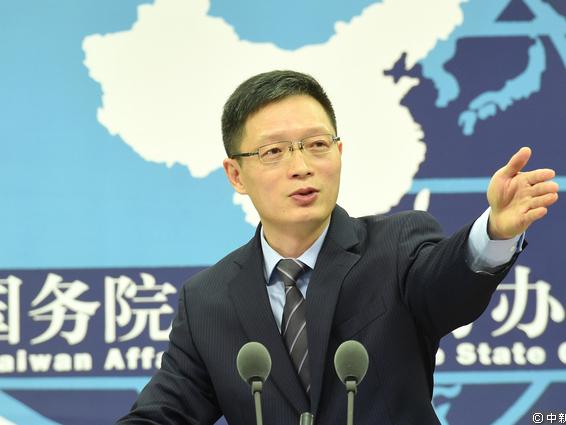 大陸國台辦發言人安峰山。(資料圖片)