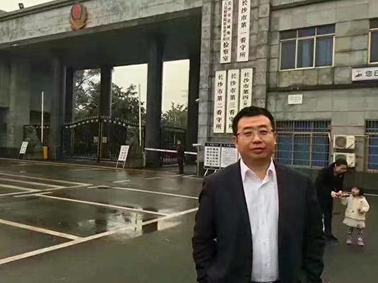 內地維權律師江天勇。