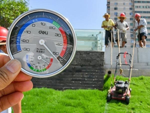 西安地面昨日亦曾逾50℃。