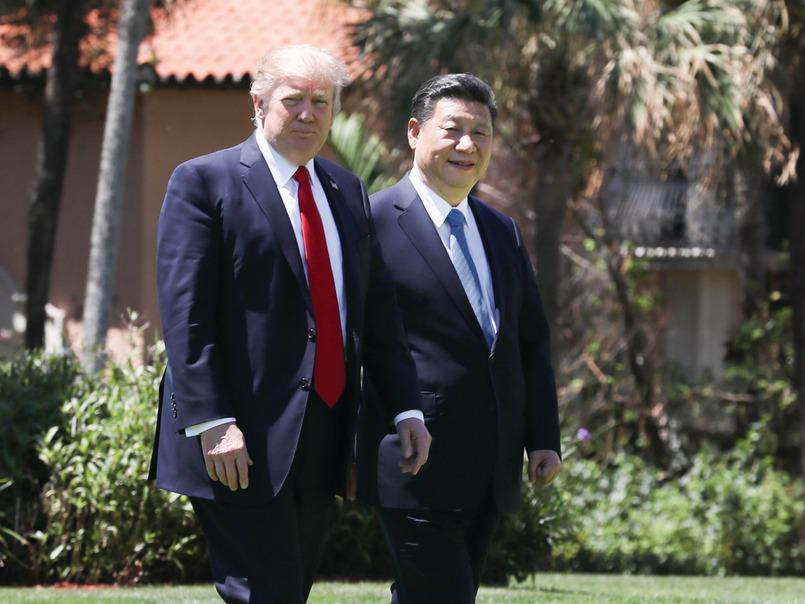 特朗普今年4月在莊園會晤期間,答應習近平的邀請訪華。