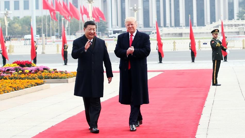 中方以「國事訪問+」超高規格接待特朗普,給足面子。