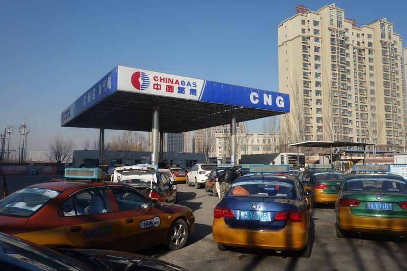 供求失衡下,內地液化天然氣價格飈升。