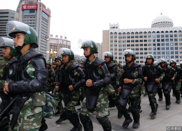 武警是地方反恐的重要力量。