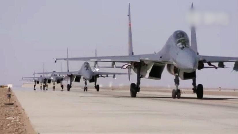 空軍在短片中,展示新機型。