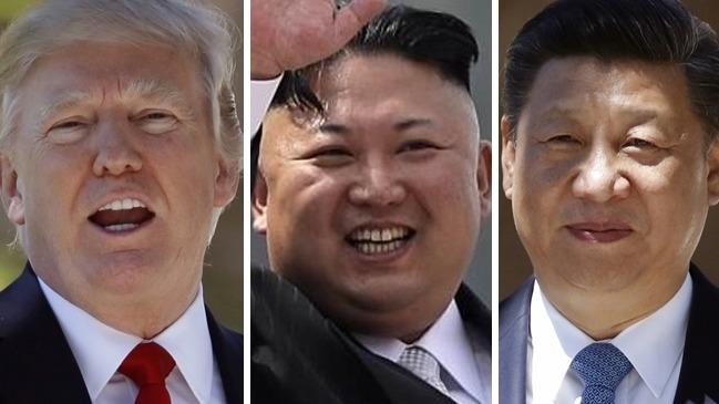 習近平、特朗普和金正恩代表的中美朝三角關係,或因「特金會」可能實現,出現微妙變化化。