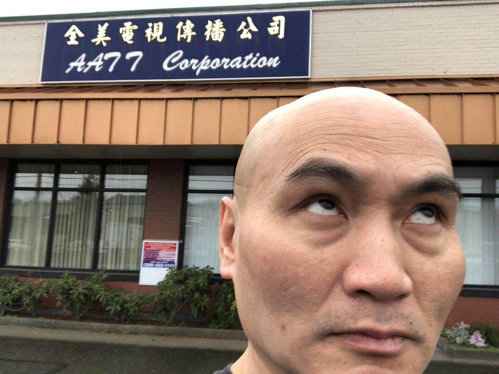 有在美國的華人網民號召,到全美電視台位於加州總部外「翻白眼」、在社交媒體「打卡」,聲援梁相宜。