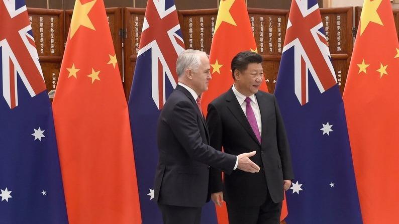 澳洲總理特恩布爾承認,反外國干預法影響中澳關係。