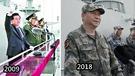解放軍昨天在南海舉行海上大閱兵,距離2009年、即胡錦濤時代的青島海上閱兵已有9年。