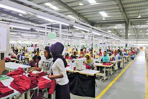 埃塞俄比亞工人的薪金便宜,而且政府沒立法規定最低工資。(受訪者提供圖片)