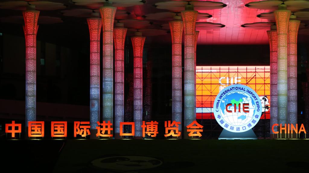 中國下月將在上海舉行國際進口博覽會。(新華社圖片)