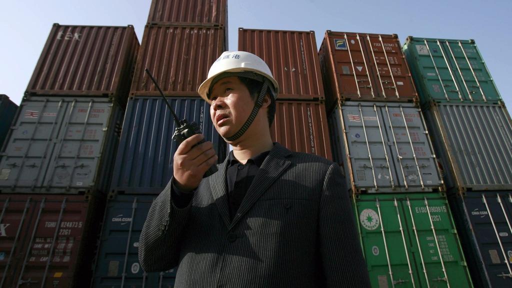 美國向中國揮動關稅大棒的影響,仍未充份反映在官方進出口數據。