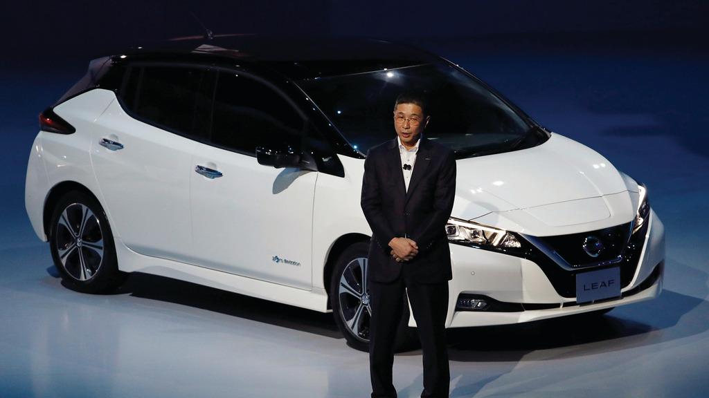 日產2010年開始生產的電動車Leaf,是全球銷量最高的電動車。