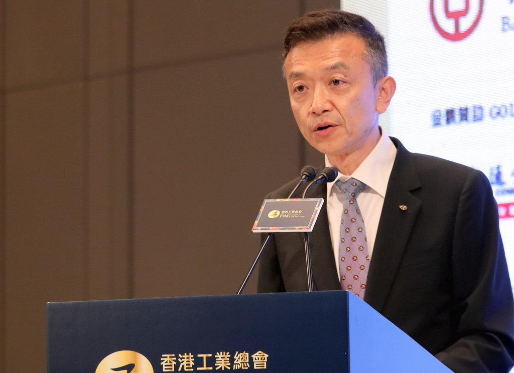 香港工業總會主席葉中賢博士。